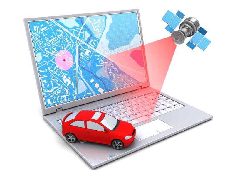 GPS sledování vozidel a zobrazení na mapě v reálném čase